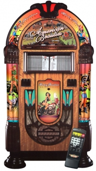 Rock-Ola Harley Davidson American Beauties CD Jukebox