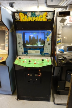 Bally Midway Rampage Arcade Videospielautomaten - US Import