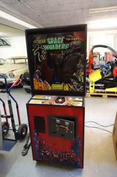 Bally Midway Space Invaders Deluxe Arcade Videospielautomat - US Import