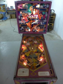Gottlieb Torch Pinball