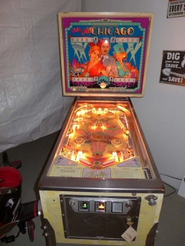 Bally Old Chicago Pinball