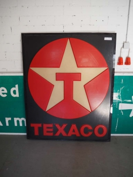 Texaco Gas Station Sign - US Import