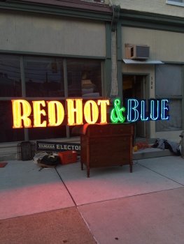 Red Hot & Blue Neon Sign - US Import