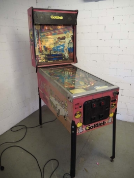 Gottlieb Car Hop Pinball Flipper