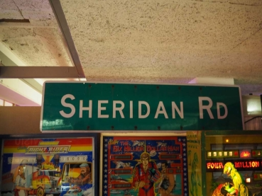 Sheridan RD Street Sign - US Import