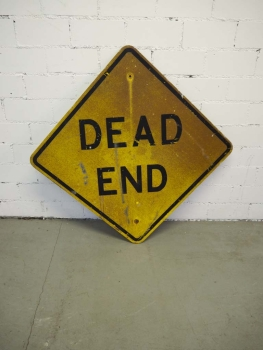 Dead End Sign - US Import