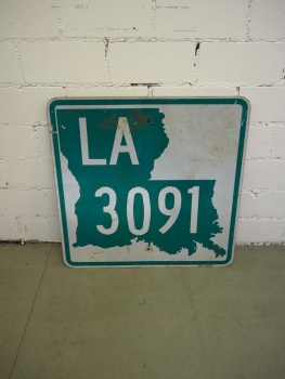 Louisiana 3091 Highway Sign - US Import
