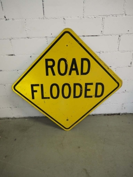 Road Flooded Sign - US Import