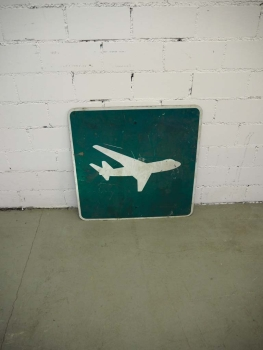 Airplane Sign - US Import