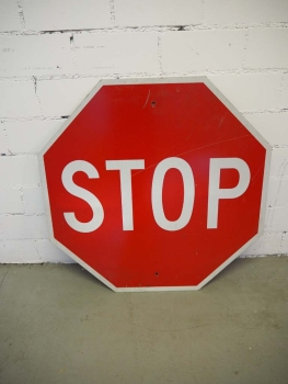 STOP Sign - US Import
