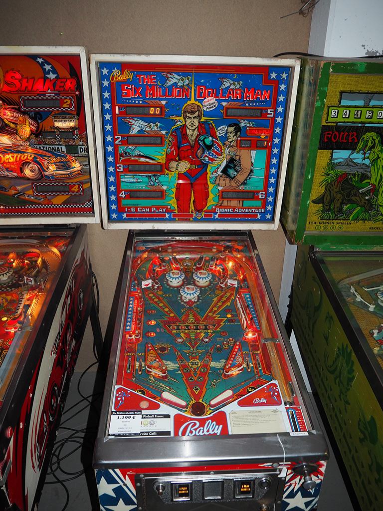 Blackforest Warehouse Online Shop Bally The Six Million Dollar Man Pinball