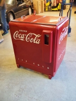 Coca-Cola Ice Cooler restauriert Westinghouse - US Import