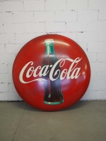 Coca-Cola Werbeschild Button - US Import
